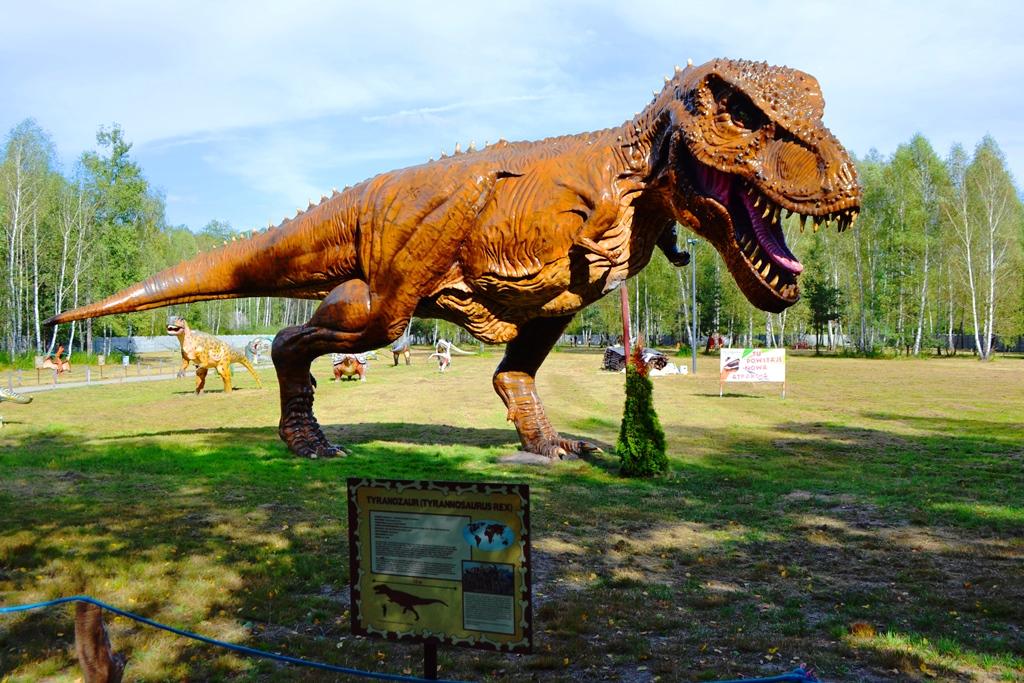 dinozaur Brzezóvka Domatków