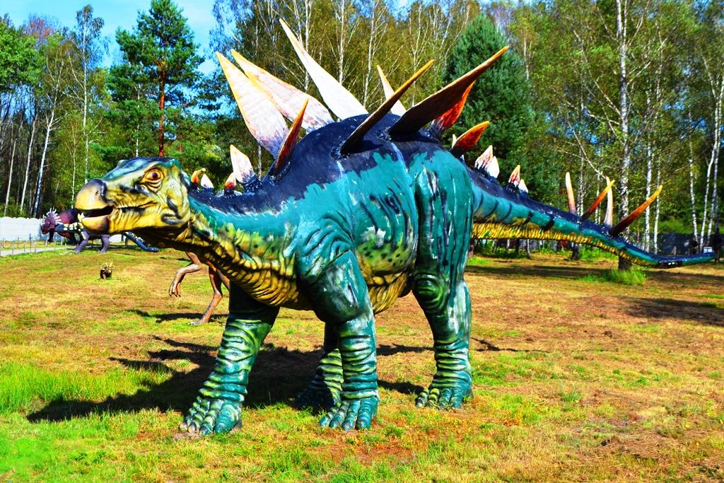 Domatków Brzezóvka dinozaury