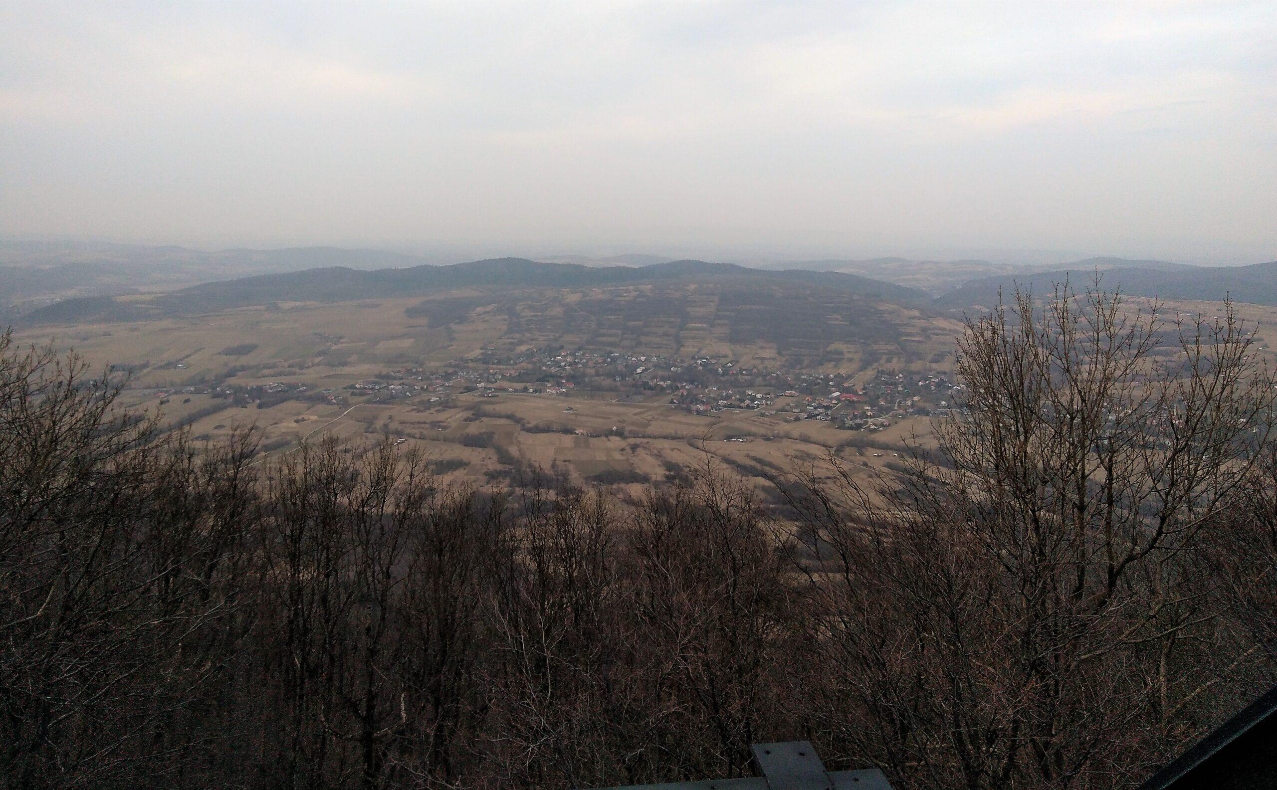 Widoki z góry Cergowa