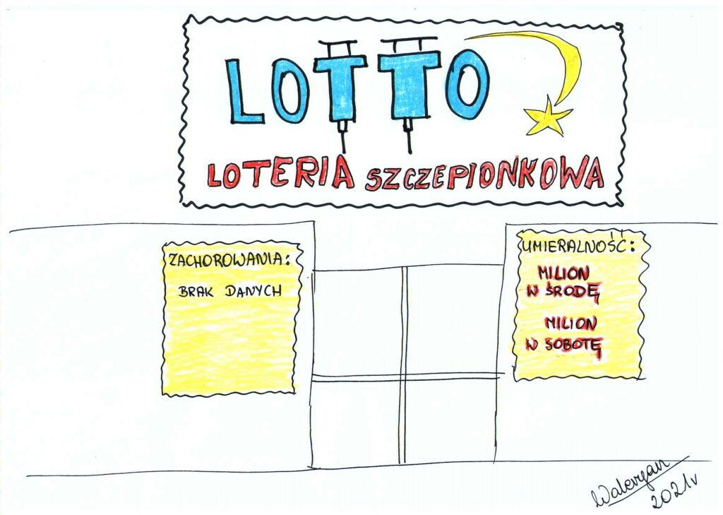Loteria szczepionkowa, lotto